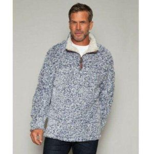 True Grit Softest Tip Shearling 1/4 Zip Sweater